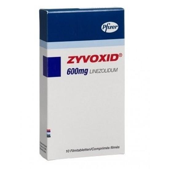 Zyvoxid 600 mg 10 tabs